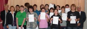 Verleihung 2010: Staatlicher EDV-Führerschein.nrw